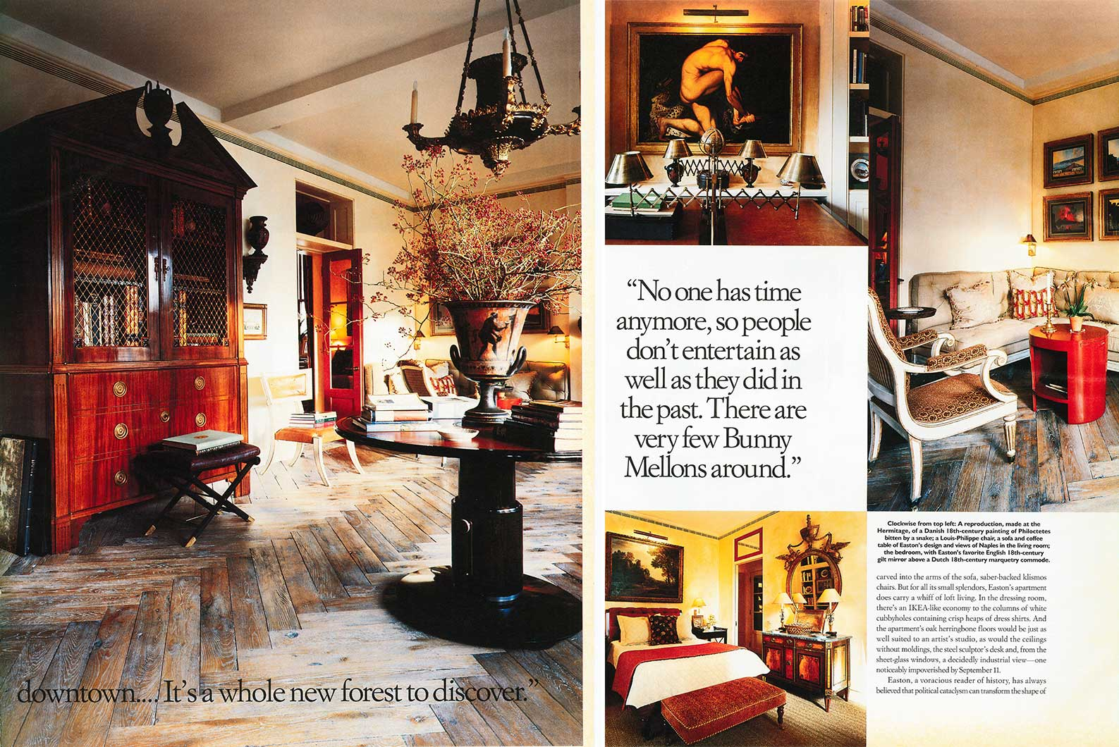 W Magazine - Decorators Apartment